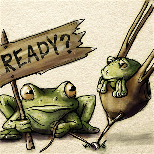 Ready Frogs (via Serious Creatures Blog)