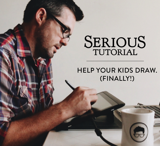 Help Kids Draw Tutorial