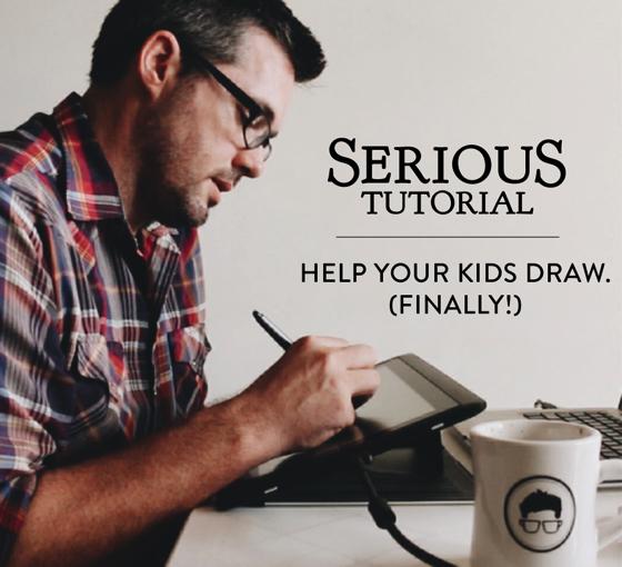 Help Kids Draw Tutorial